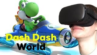 NEW RACING GAME ON OCULUS QUEST? IS IT GOOD??? DASH DASH WORLD REVIEW