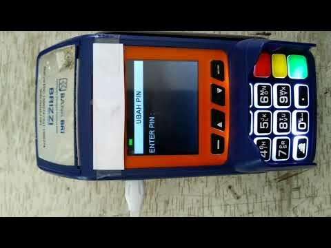 Ubah PIN ATM dengan Mesin EDC Brilink