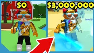 Buying The $3,000,000 Lightsaber In Roblox Hunting Simulator