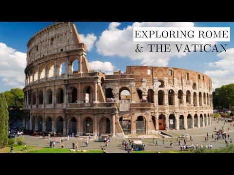 EXPLORING ROME + VATICAN CITY