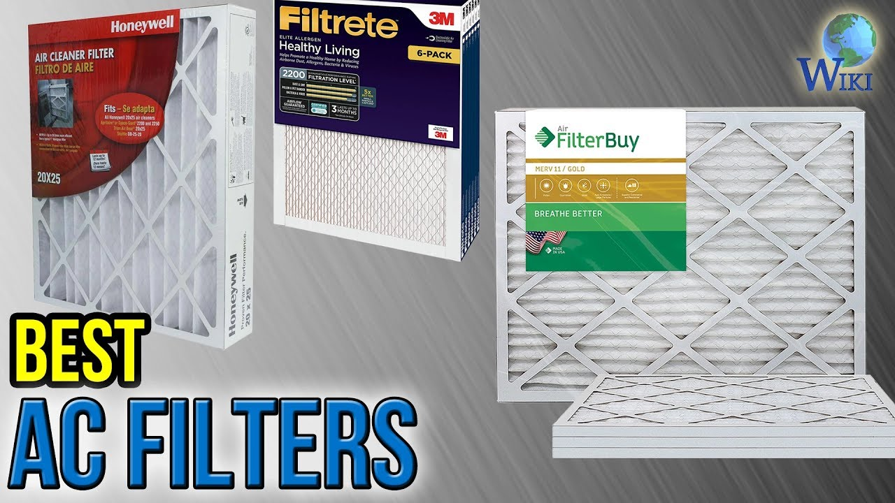 9 Best AC Filters 2017