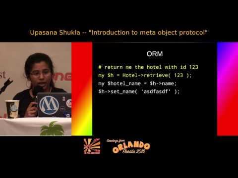 2016 - Introduction to meta object protocol - Upasana Shukla