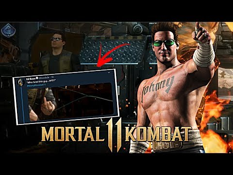 Mortal Kombat 11 - Johnny Cage TEASED!
