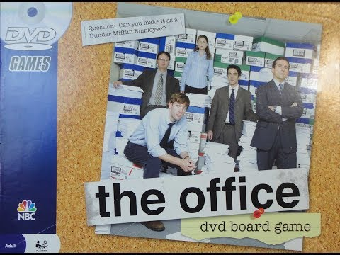 What's Inside -- The Office DVD Board Game (2008, Pressman)
