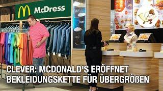 Clever: McDonald's eröffnet Bekleidungskette für Übergrößen