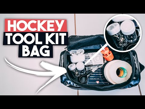What's In My Hockey Tool Kit Bag!? 🏒🔥