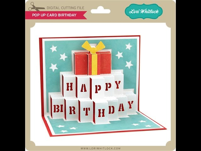 Pop Up Card Birthday Youtube