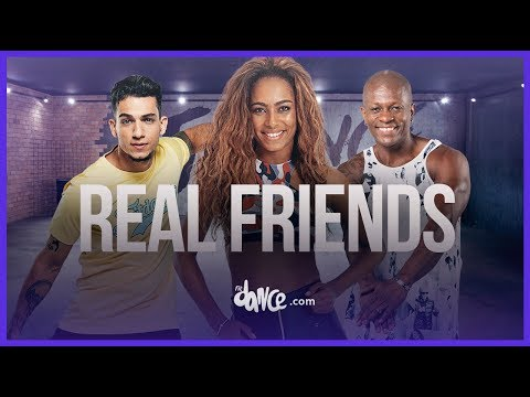 Real Friends - Camila Cabello ft. Swae Lee | FitDance Life (Choreography) Dance Video