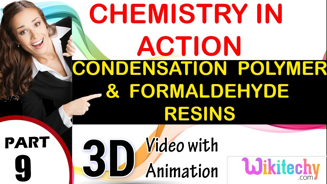 condensation polymers and formaldehyde resins chemistry in action class 12  chemistry subject cbse