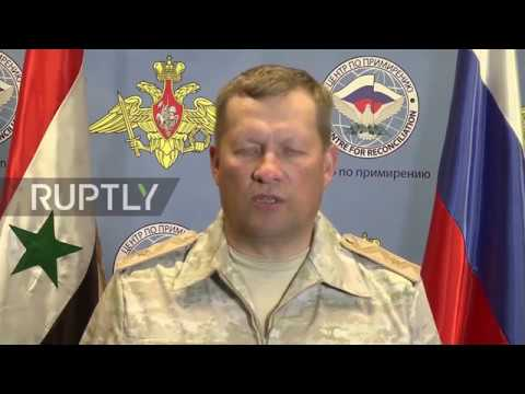Syria: 'All-round assistance' to OPCW special mission in Douma - Russian MoD
