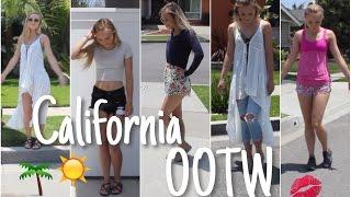 OOTW   California Vacay ♡