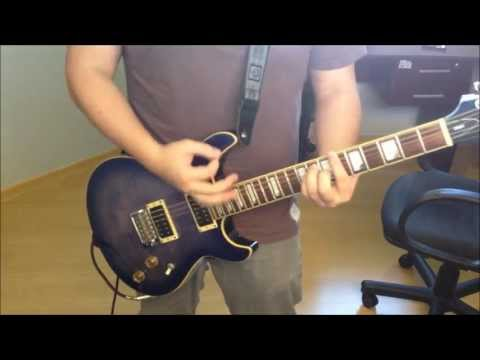 Imagine Dragons - Radioactive (Live at The Joint Solo Guitar Cover)