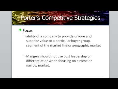 Forming Strategy Chapter 6