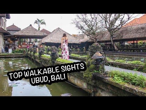 UBUD'S TOP WALKABLE SIGHTS, BALI