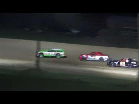 12. Street Stock Heat Race #2 at Crystal Motor Speedway, 04-15-17