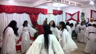 coreografia quase meia noite Vanilda Bordieri grupo santidade ao sernhor igreja Deus é amor