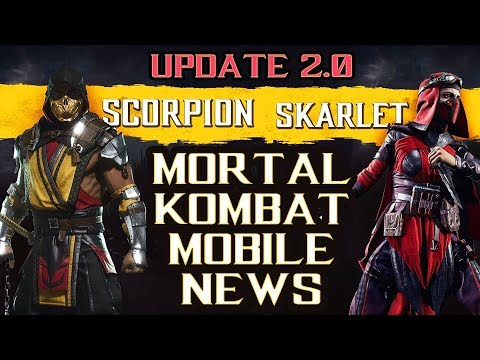 Download MKX Mobile Update News  MK 11 Characters Confirmed