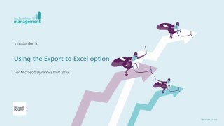 Dynamics NAV 2016: Using the Export to Excel option