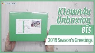 Unboxing BTS 2019 SEASON 39 S GREETINGS 방탄소년단 防弾少年団 시즌그리팅 언박싱 KPOP Ktown4u