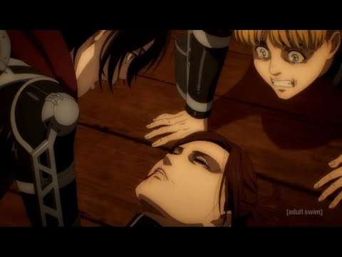 Download Eren Laughs At Sasha's Death English Dubbed! Attack On Titan Season 4 Episode 8 English Dubbed