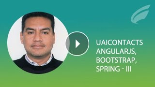 app web completa angular twitter bootstrap spring mvc data security parte iii