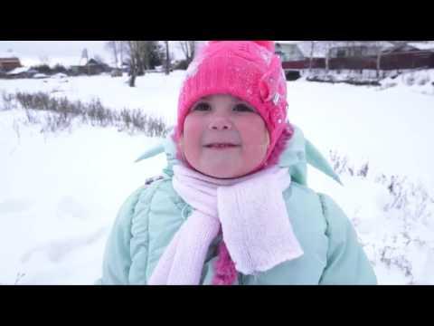 Зимние забавы, Ульяна, 4 года 7 месяцев