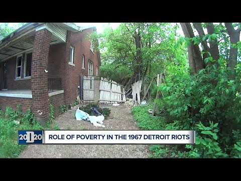 Role of poverty in the 1967 Detroit riots