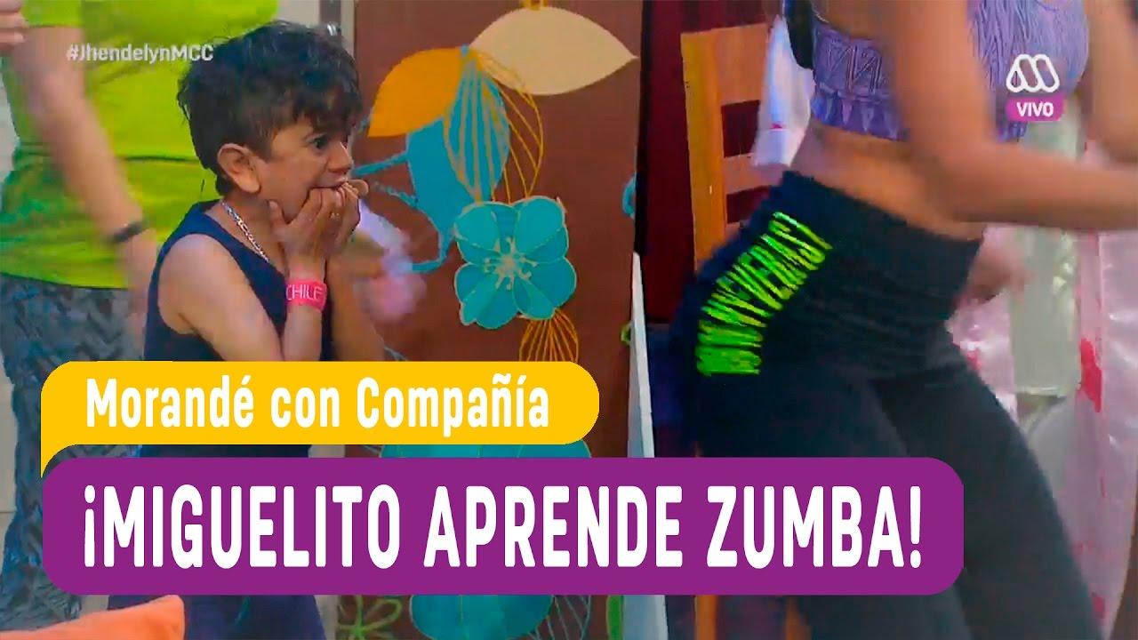 Miguelito aprende zumba con sensual instructora   Morandé con Compañía 2016