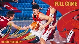 Turkey v Latvia - Full Game - Classification 5-8 - FIBA U16 European Championship 2017