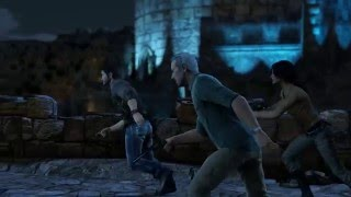 Uncharted 3 Drake's Deception Remastered - Chap 8: Talbot Drugs Cutter (Takes Journal) Cutscene
