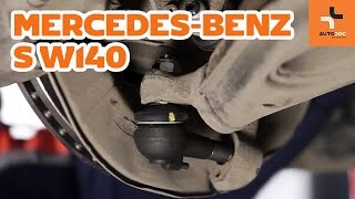Så byter du spindelled fram på Mercedes-Benz S W140 GUIDE | AUTODOC