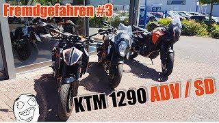 Probefahrt  KTM 1290 Adventure S / Super Duke | Modell 2017