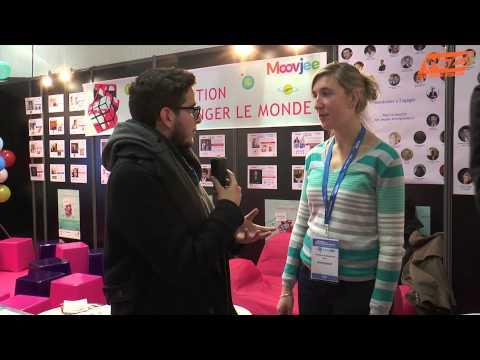 Salon des Entrepreneurs : interview de Josephine qui nous parle de son initiative Moovjee