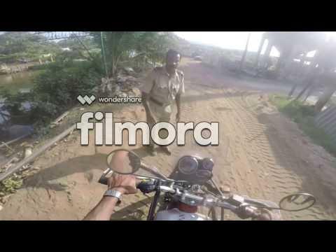 HIMALAYAN off road beach  ride in kerala