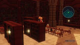 World of Final Fantasy Maxima - Library Puzzle solved!