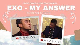 EXO - MY ANSWER (COVER) | BERNARD SAUD X BRISENA MUSIC