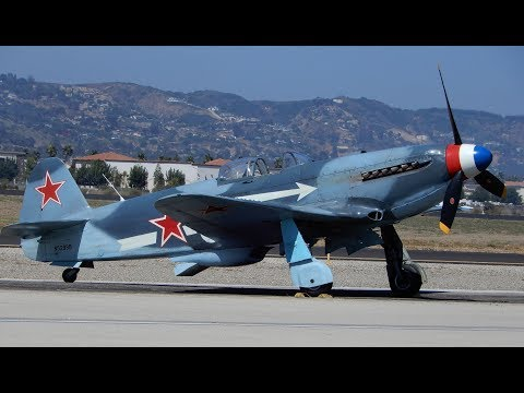 YAK-3 Flying at the Wings Over Camarillo Airshow