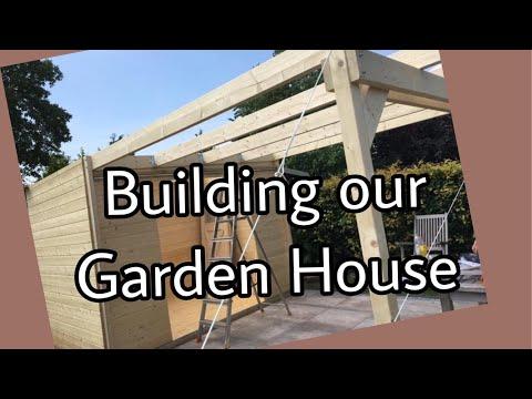 Verbazingwekkend Gartenhaus Pultdach Geräteschuppen Holz Gartengerätehaus modern TJ-93