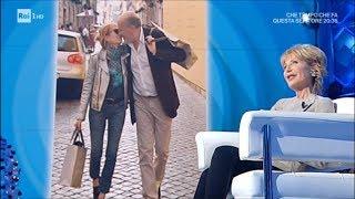 Lilli Gruber, il marito francesce e il suo italiano sgrammaticato - Domenica in 16/12/2018