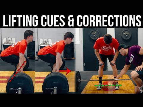Quick Tips For Deadlifts & Squats | Training My Online Client