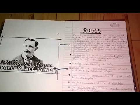 | Physical education project file class 12 on volleyball | physical education file on volleyball |