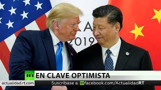 """Trump: EE.UU. alcanzó una """"sustancial primera fase"""" de un acuerdo comercial con China"""