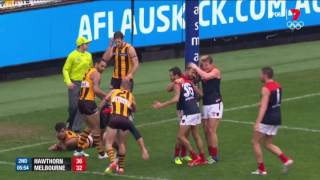 Round 11 AFL - Hawthorn v Melbourne Highlights