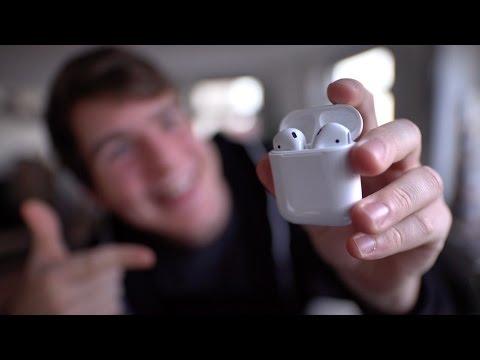 Mein Erster Eindruck von Apples kabellosen AirPods!