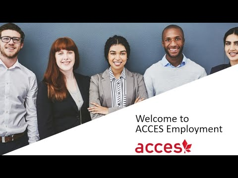 ACCES Employment Welcome Video-  Exhibitor Booth