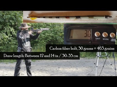 Which Shoots Hardest? - Measuring Velocity & Energy of Bows / Crossbows