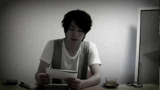 舞台『MACBETH』公式ブログ用動画 マクベス陛下(矢崎広)の英語スピー...