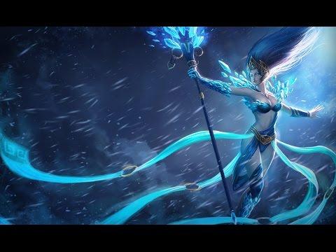 Skin Janna Reine de Givre - League of Legends