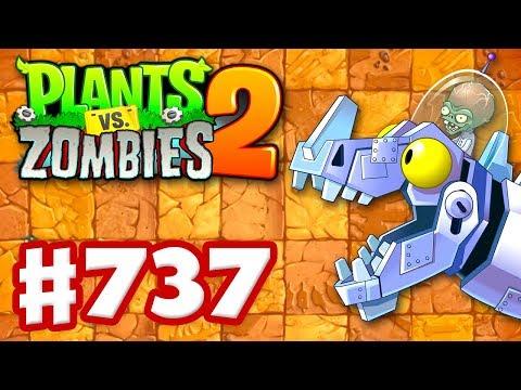 Jurassic Marsh Mash Epic Quest - Plants vs Zombies 2 - Gameplay Walkthrough Part 737