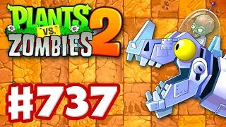 Jurassic Marsh Mash Epic Quest! - Plants vs. Zombies 2 - Gameplay Walkthrough Part 737